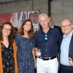 Clara Irigoyen, Elvira Viedma, do Turismo da Espanha, Marcelo Cusnir, da New Age, e Juan Antonio, do Turismo da Espanha