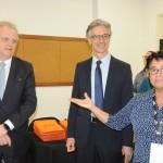 Cristina Fritsch, presidente da Abav-RJ, recepcionou Edmar Bull, da Copastur, e Marco Ferraz, presidente da Clia Brasil
