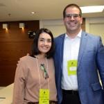 Cristina Junqueira, da Opas, e Denis Neves, da Tour House