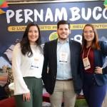 Débora Linhares, Recife Convention, Diogo Beltrão, Setur-CE, e Hellen Rocha, do Recife CVB