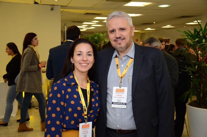 Daiana Moura e Marcelo Baranowsky, da Evento Facil