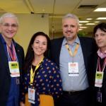 Dylmar Souza, da Hoffmann, Daiana Moura e Marcelo Baranowsky, da Evento Facil, e Jamil Bruno, da Hoffmann