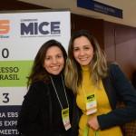 Erika Deszo, da Dezo Eventos, e Barbara Moya, da Mark Mais