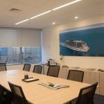 Espaço conta com cinco salas de reunião