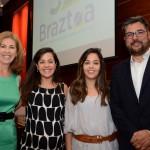 Família Nedelciu durante a posse de Roberto na presidencia da Braztoa