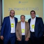 Gian Terhoch, Carlos Prado e Mateus Passos, da Tour House