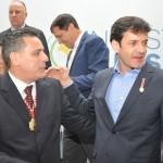Gilmar Piolla, secretário de Turismo de Foz do Iguaçu com o Ministro Marcelo Alvaro Antonio