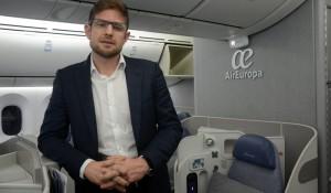 """""""Dreamliner mudou percepção sobre Air Europa"""", diz Gonzalo Romero"""