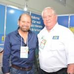 Guilherme Paulus, da GJP com Roy Taylor, do M&E