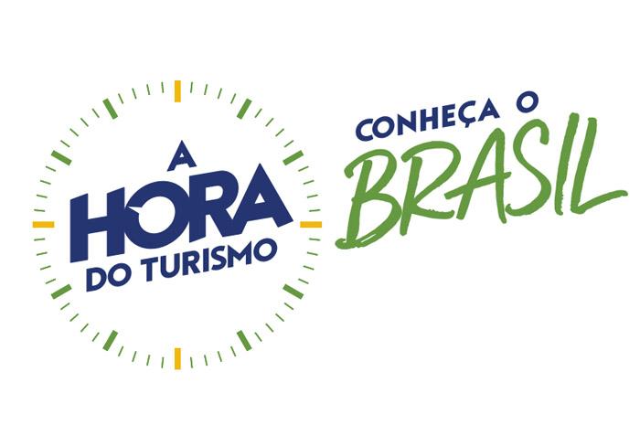 'A Hora do Turismo', nova marca do Ministério d Turismo.