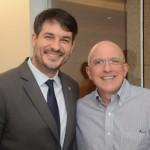 Ignacio Pálacios, da MSC, e Aldo Leone, da Agaxtur