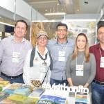 João Behrendt, Beth Coelho, Jian Peter, Daiane Melo, e Marcelo Gil, de Bonito