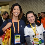 Katia Leães, do Beto Carrero World, e Francine Perez, Floripa CVB
