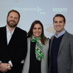 Luciano Guimarães, diretor geral, Renata Esteves, diretora de Marketing da Rexturadvance, e Felipe Fonseca, diretor de desenvolvimento de negócios da Voom An Airbus Company