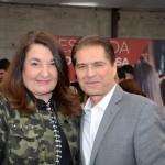 Magda Nassar, presidente da Abav, e Alain Baldacci, do Sindepat