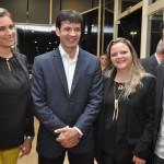 Malu Barreto, Luiza Piloto e Pablo Caldani, do Mabu Hotéis com Marcelo Álvaro Antônio, Ministro do Turismo