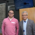 Marcello Berbis, da Globalis Turismo, e Marcos Santos, da  Jatobá Viagens