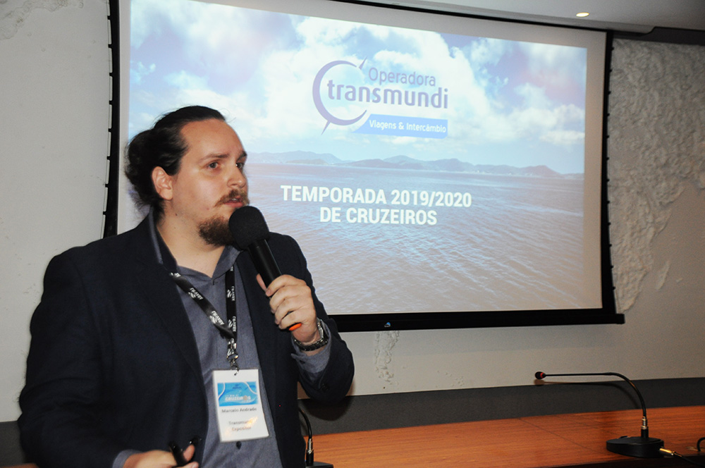 Marcelo Andrade, diretor da Transmundi