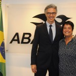 Marco Ferraz, presidente da Clia Brasil, e Cristina Fritsch, presidente da Abav-RJ