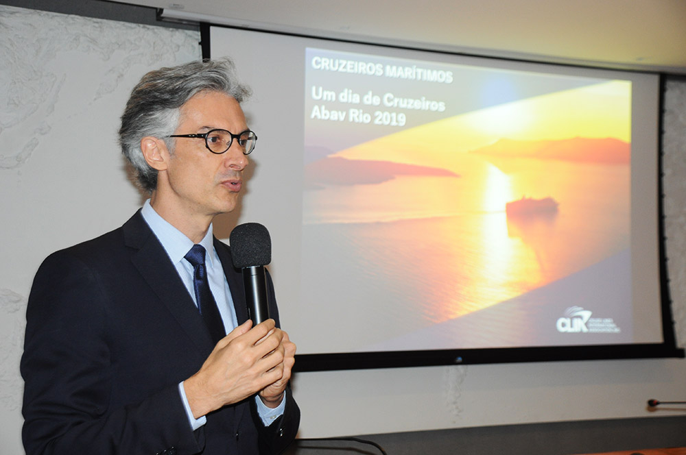 Marco Ferraz, presidente da Clia Brasil