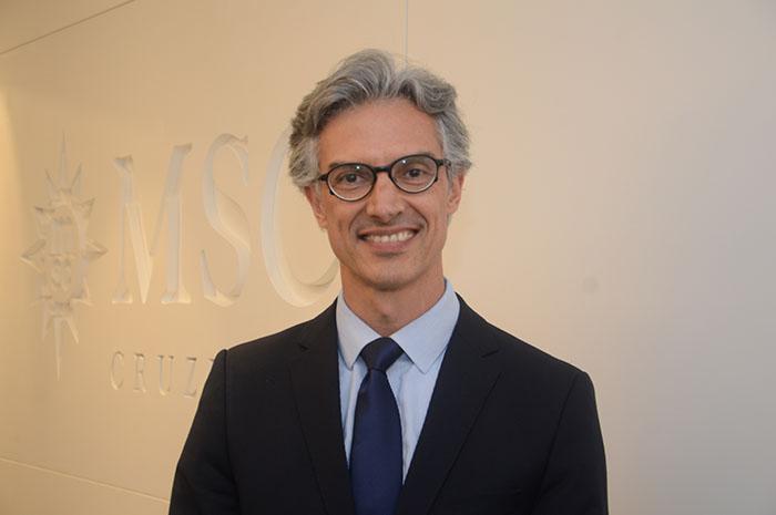Marco Ferraz, presidente-executivo da Clia Brasil