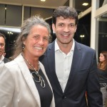 Mari Masgrau, do M&E, com Marcelo Álvaro Antônio, ministro do Turismo