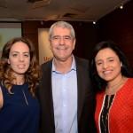 Marina Gigueiredo, Celso Garcia e Monica Sâmia, da Braztoa