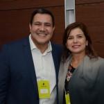 Mateus Passos da Tour House, e Lilian Paiva, da Câmara de Comercialização de Energia Elétrica