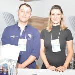 Maurício Gluck e Cynthia Abatti, do Viale Hotels