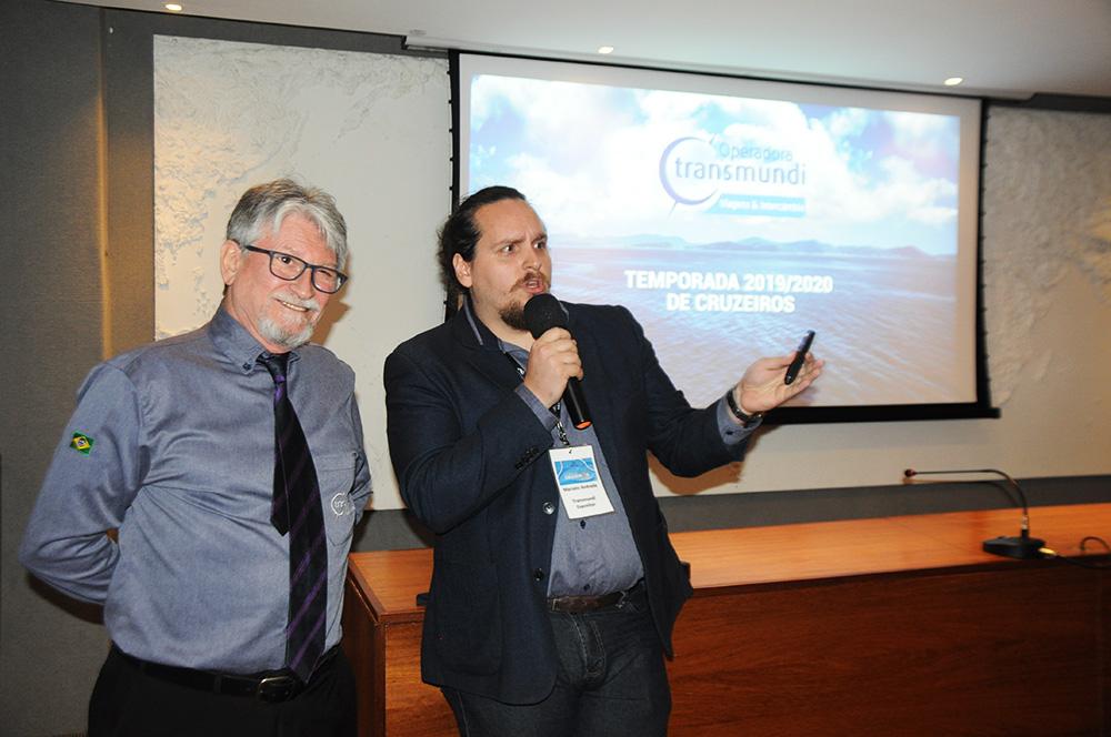Miguel e Marcelo Andrade, diretores da Transmundi