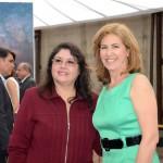 Milagros Ochoa, do Turismo do Perú, e Lucila Nedelciu, da Raidho