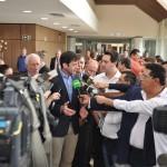 Ministro do Turismo, Marcelo Alvaro Antonio, e o Governador do Paraná, Ratinho Jr.
