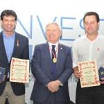 Ministro do Turismo e Governador do Paraná recebem homenagem do Caminhos de Santigo