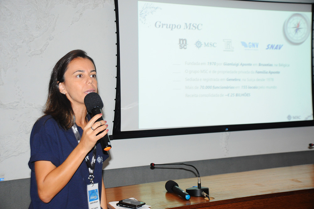 Natália Marques, executiva da MSC