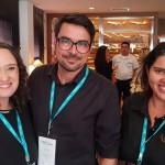 Natalia Saldanha, da ETC, Antonio Casoti, da Luxe Travel e Luiza Mendonca - Flytte Viagens