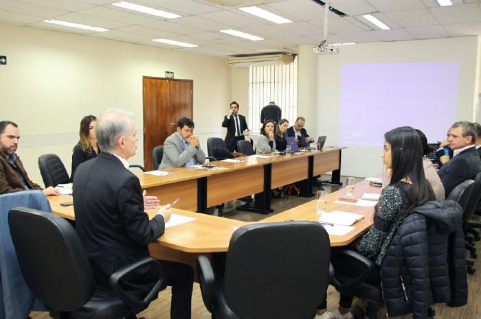 O encontro que reuniu representantes de seis dos sete estados membros da Cosud