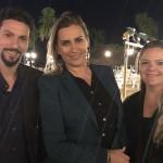 Pablo Caldani, Malu Barreto e Luiza Piloto, do Mabu Hotéis