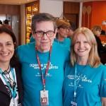 Patricia Saad, da  Anima Turismo (Niteroi), Cassio Oliveira e Junia Clemente, da Ancoradouro
