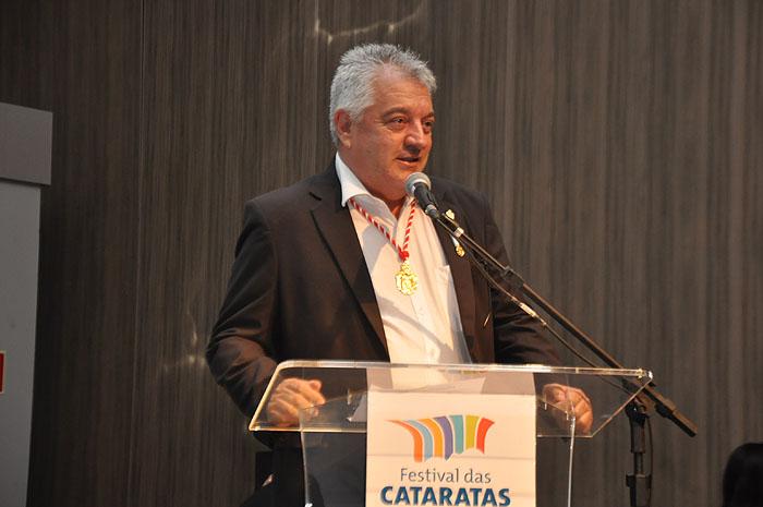Paulo Angeli, idealizador do Festival das Cataratas
