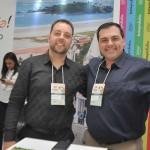 Reinaldo Ribas e Gunther Klein, da Nauticomar Resort
