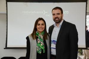 Renata Esteves e Fernando Lermi, da Rexturadvance