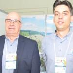 Roberto Bacovis e Jomar de Quadros, do Itá Thermas