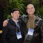 Robson Caparroz, da Nix Travel, e Eduardo Vezzetti, da Premium Travel