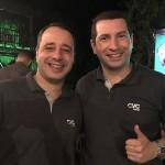 Robson Sanches e João Rafael Santos, da CVC Corp