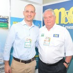 Rodrigo Napoli, da GJP, com Roy Taylor, do M&E