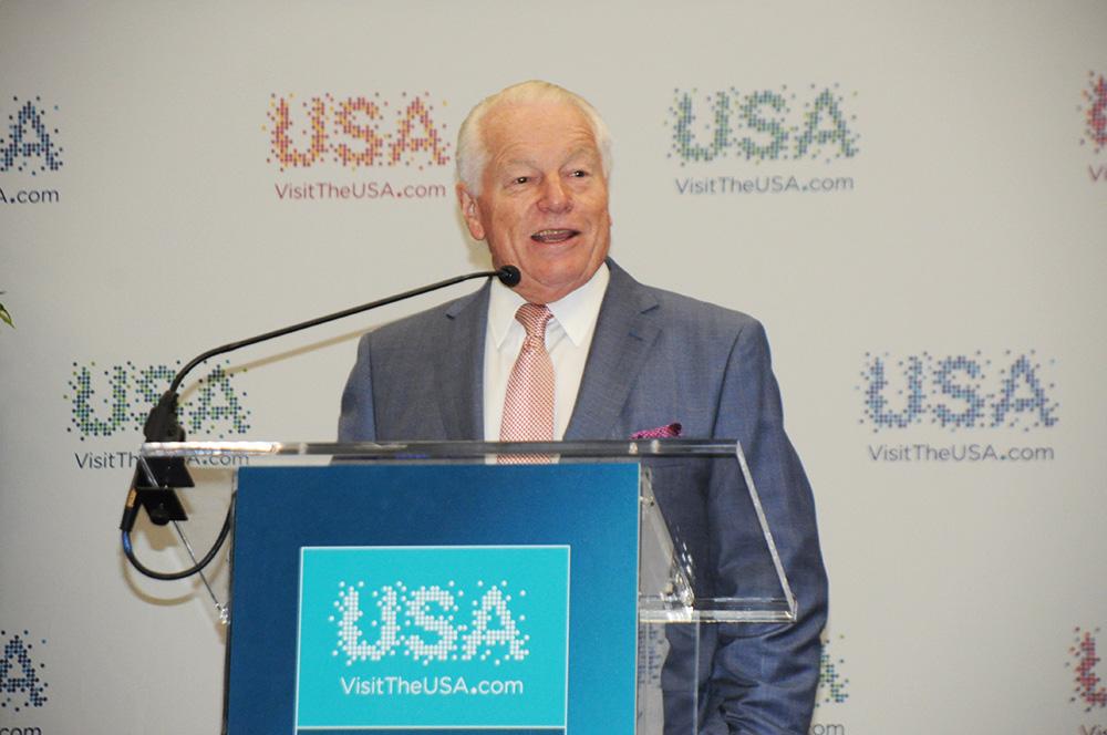 Roger Dow, presidente da US Travel Association