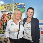 Rosa Masgrau com Tatiana Turra, do Curitiba Turismo
