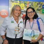 Rosa Masgrau, do M&E com daniele Santos, da JPA Travel