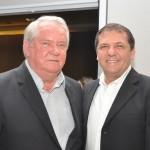 Roy Taylor, do M&E com Chico Brasileiro, prefeito de Foz do Iguaçu