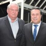 Roy Taylor, do M&E, com Marcio Nunes, secretário de Desenvolvimento Sustentável e Turismo do Estado do Paraná